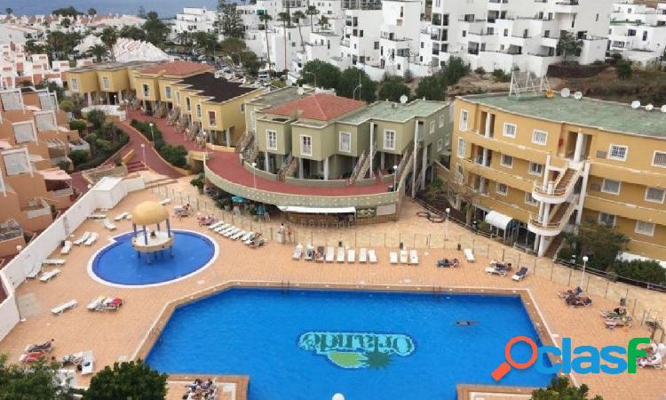 Costa adeje piso complejo orlando a 400 metros del mar. complejo orlando, de 55 m2,una habitac