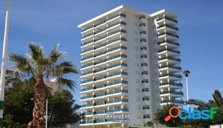 Apartamento con vistas despejadas cerca de la playa en calpe.