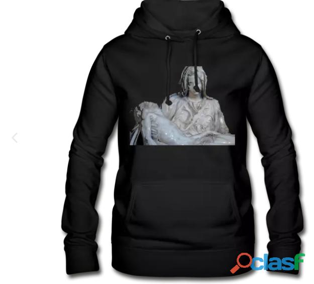 Sudadera con capucha mujer la piedad
