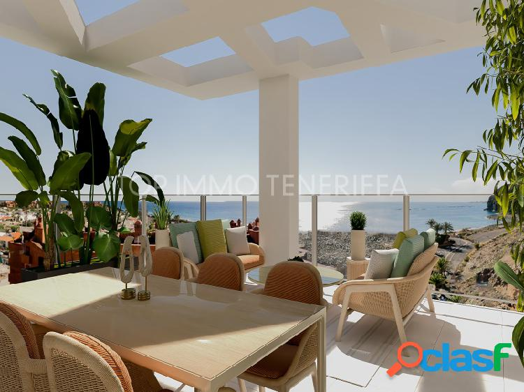 Projecto de apartamentos de lujo en palm-mar, tenerife sur