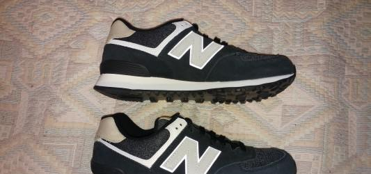 Zapatillas deportivas new balance 574 color negro