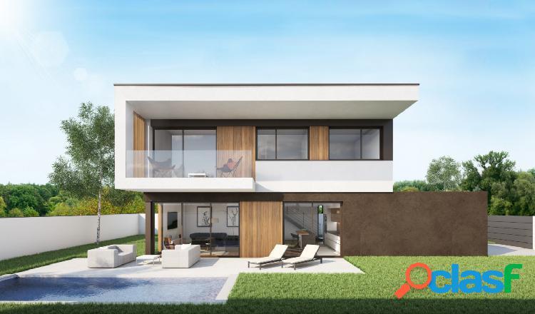 Casa obra nueva de arquitectura bioclimática