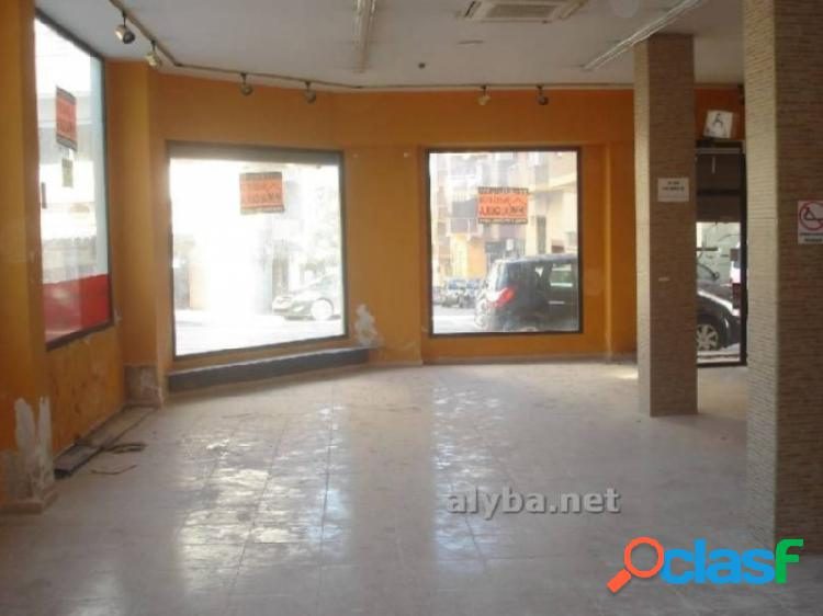Local comercial alquiler cocentaina