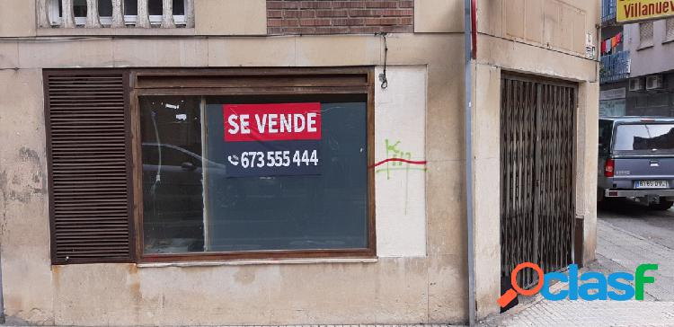Urbis ofrece local en salesas, salamanca.