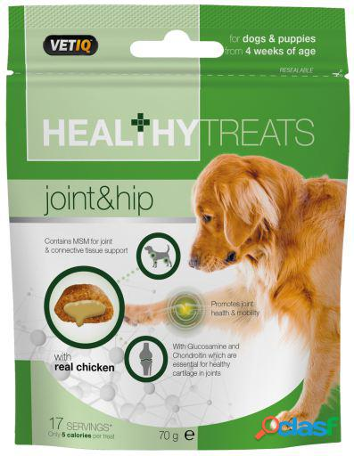 Mark & chappell snacks joint & hip care dog and puppies treats 70gr