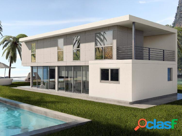 Chalet mod. miro de 4 dormitorios con parcela independiente desde 370m2 con calidades a elegir
