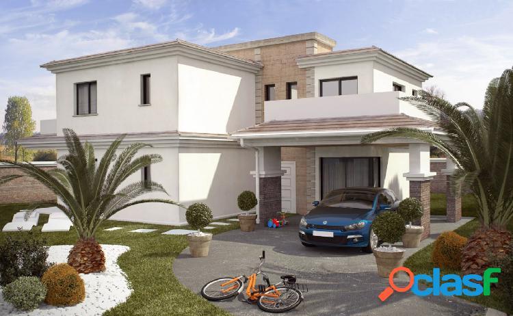 Chalet mod. rubik de 4 dormitorios y parcela independiente desde 370m2 con calidades a elegir