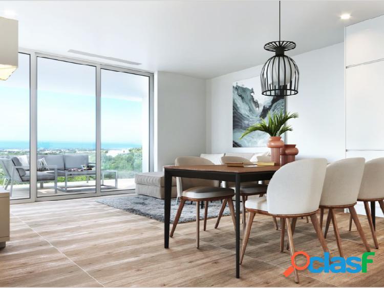 Moderno apartamento en las colinas