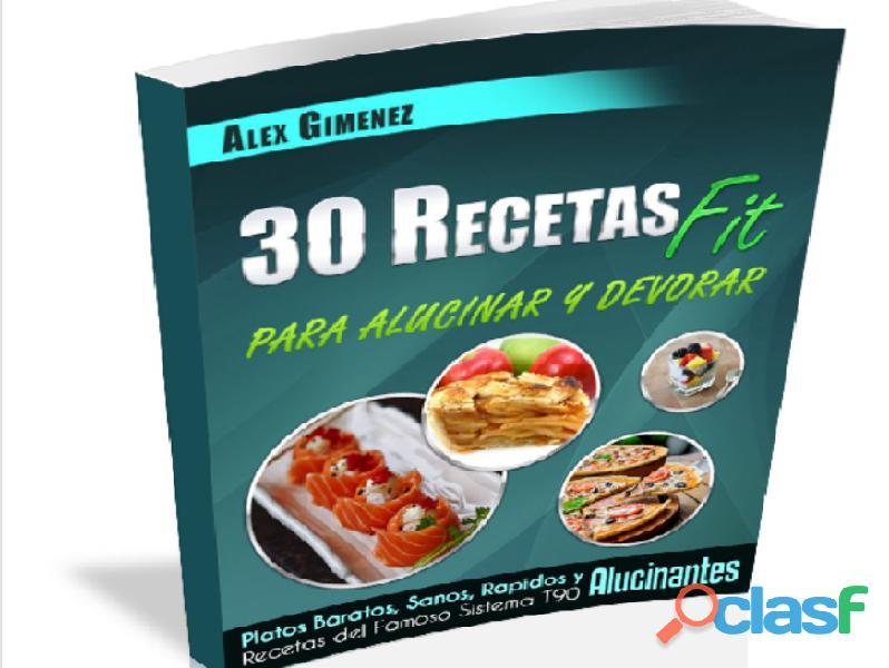 30 recetas para adelgazar, alucinar y devorar!!