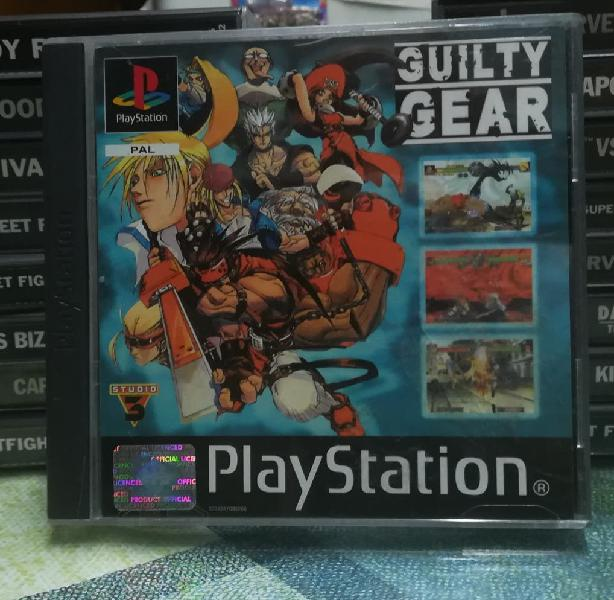 Guilty gear pal españa completo playstation 1 ps1