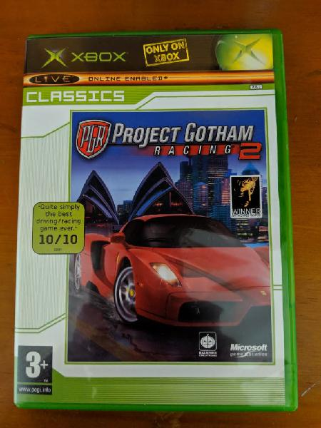 Project gotham racing 2 xbox clasica