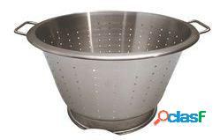 De buyer colador conico con pie y 2 asas, inox 32 cm