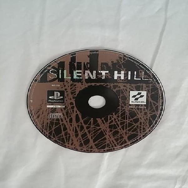 Cd disco silent hill ps1 psx playstation 1