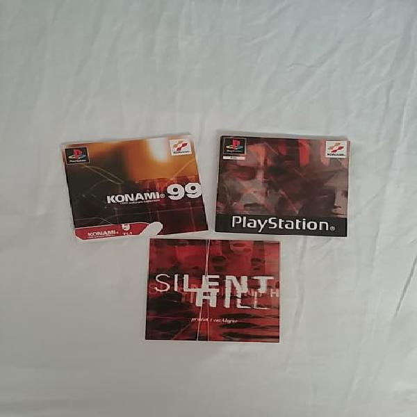 Manual silent hill ps1 psx playstation 1