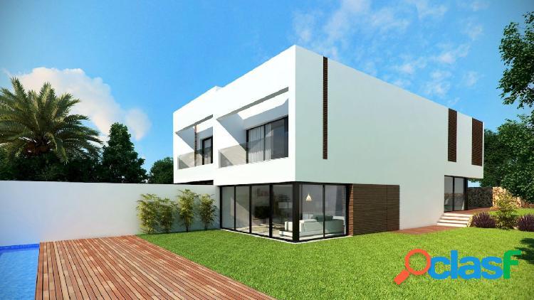 En venta villas exclusivas en moraira en urbanización privada con vista mar