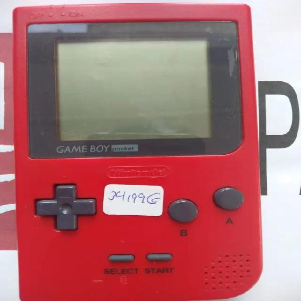 Gameboy pocket roja
