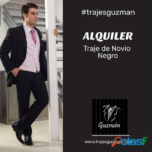 Alquiler de trajes de novio Trajes Guzmán 3