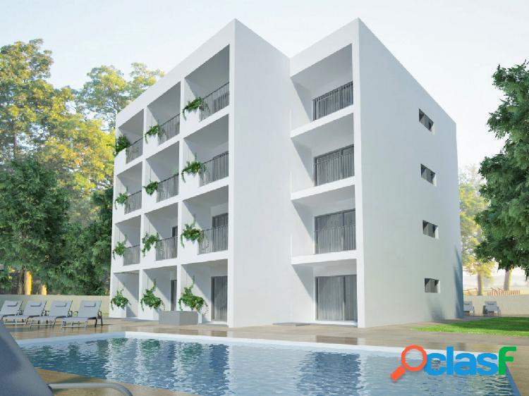 Obra nueva piso en cala millor con piscina comunitaria