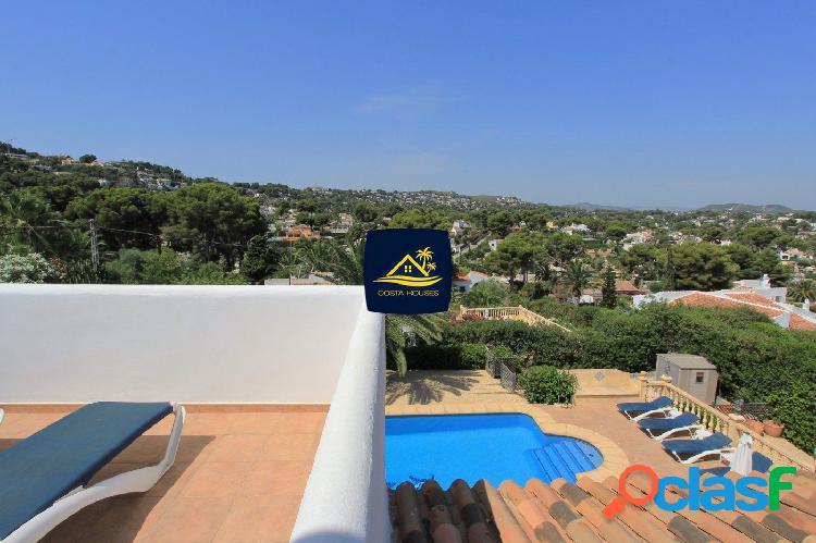Soleada villa mediterránea en tosalet · javea   orientada al sur · 5dorm · apartamento invitados