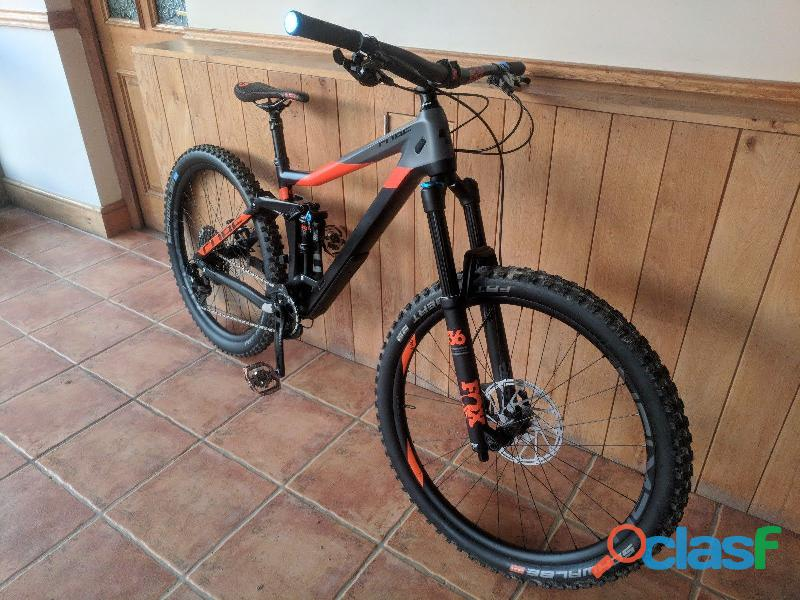 Enduro Bicicletas 2018 Cube Stereo 160 C62 TM
