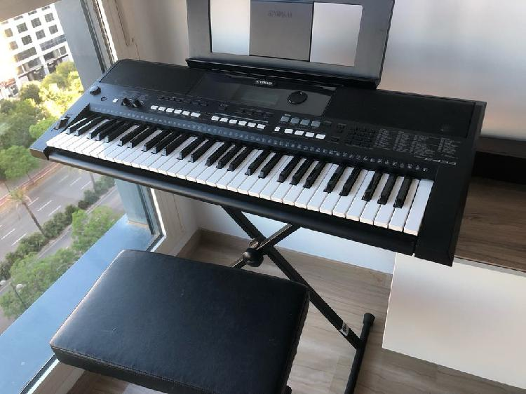Piano digital yamaha psr-e433