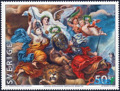Compro sellos de suecia, irlanda, islandia...