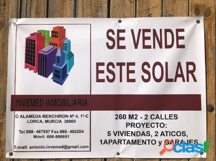 Solar en venta barrio san cristobal