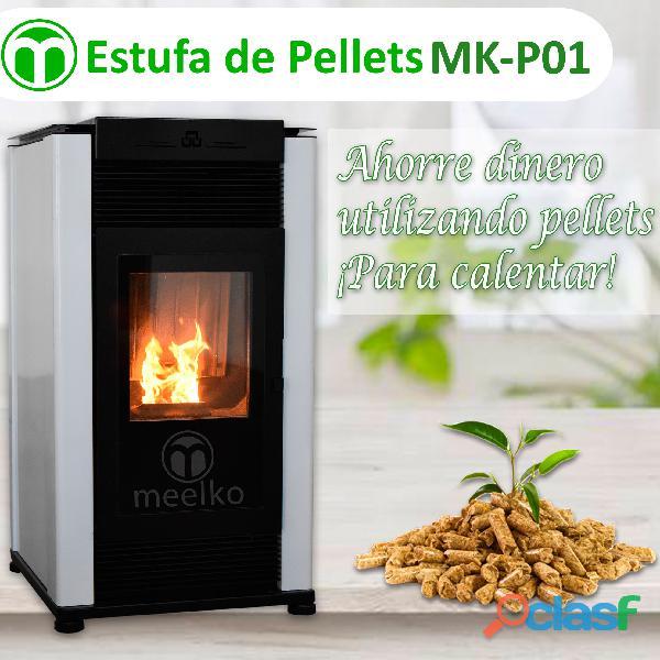 La maquina de la estufa pellets mk p01