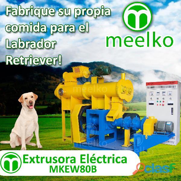 La maquina extrsora electrica mkew80b