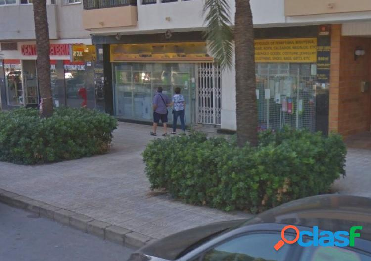Inversion local comercial en zona gran afluencia centro calpe