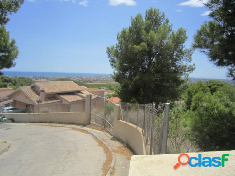 Parcela con vistas al mar en Urbanización Las Palmas