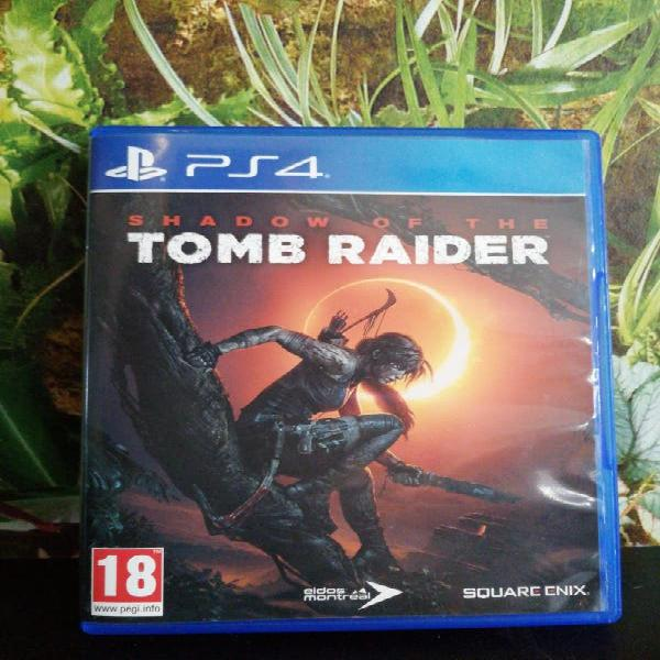 Juego shadow of the tomb rider ps4
