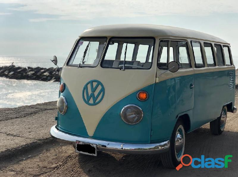 Volkswagen t1, restaurada totalmente