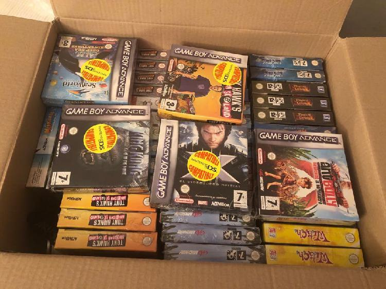 Lote juegos game boy advance