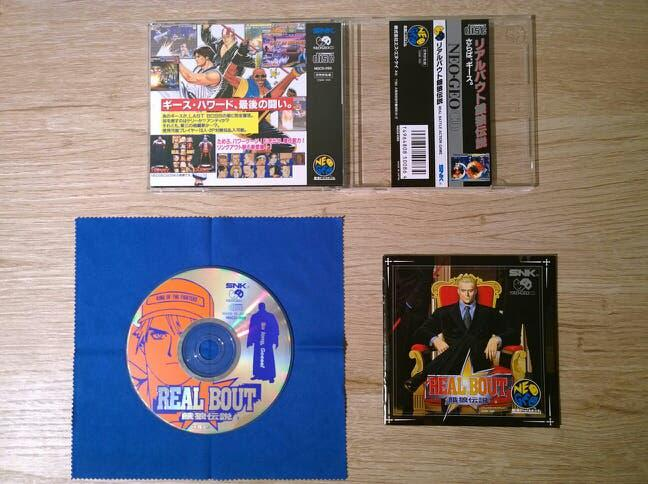 Real bout fatal fury neo geo cd special