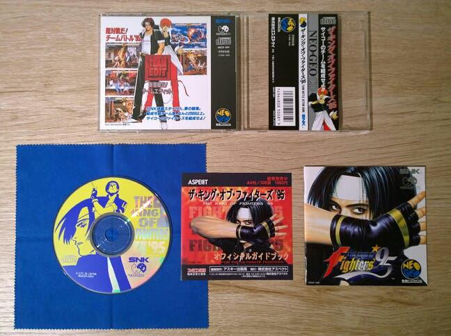 The king of fighters 95 neo geo cd