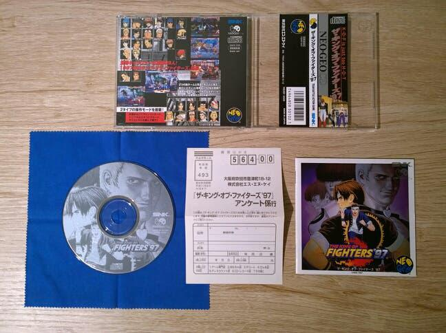 The king of fighters 97 neo geo cd