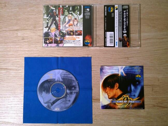 The king of fighters 99 neo geo cd