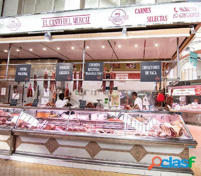 Traspaso negocio de carnicería mercado central