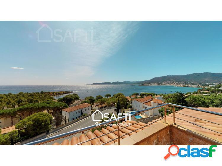 Espectacular villa de lujo con vistas panorámicas al mar en llanca.