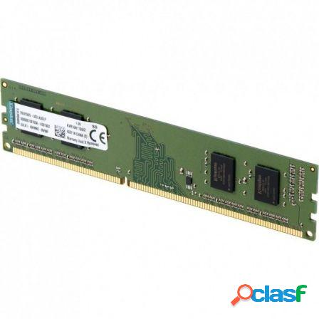 Memoria kingston kvr24n17s6/4 - 4gb ddr4 - pc4-2400mhz - cl17 - 288-pi