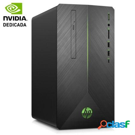 Pc gaming hp pavilion 690-0319ns - a10-9700 3.5ghz - 8gb - 1tb - gefor