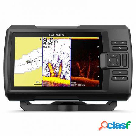 Sonda gps garmin striker plus 7cv gps integrado mapas quickdraw contou