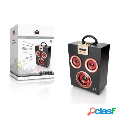 Altavoz bluetooth conceptronic party fm sd/usb cllspkparty c/ mando a