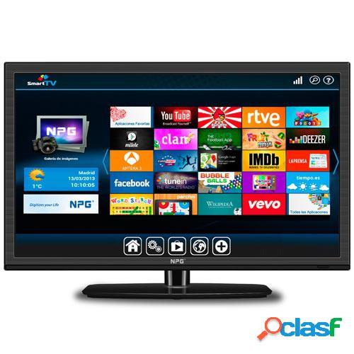 "Tv led smart tv npg 22"" ns-2214hfb"