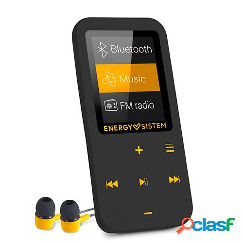 Reproductor energy mp4 touch bluetooth amber 16 gb fm microsd