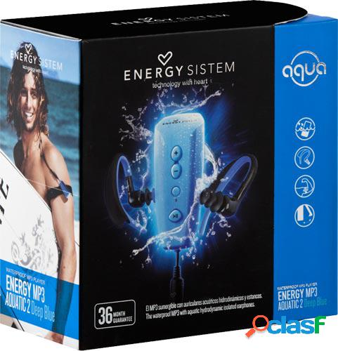 Reproductor mp3 energy sistem aquatic 2 deep blue con brazalete neopre