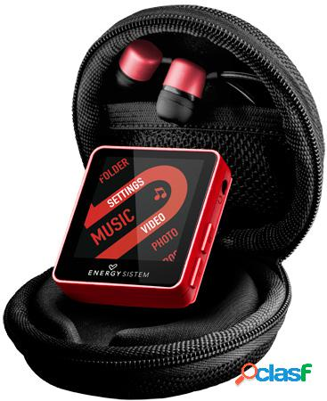 Reproductor mp4 energy sistem 2504 urban 4gb ruby red