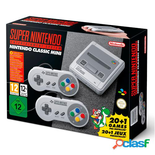 Videoconsola nintendo classic mini: super nintendo entertainment syste
