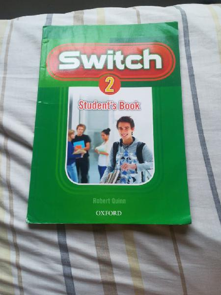 Student's book switch oxford 2°eso